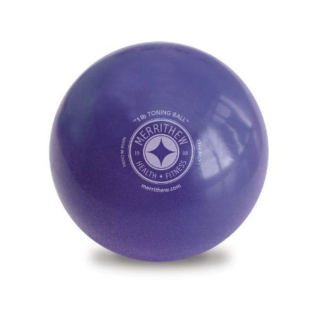 Toning Ball - 1lb (purple)