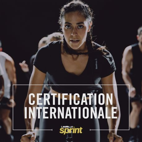 Certification LesMills Sprint
