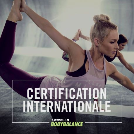 Certification BODYBALANCE
