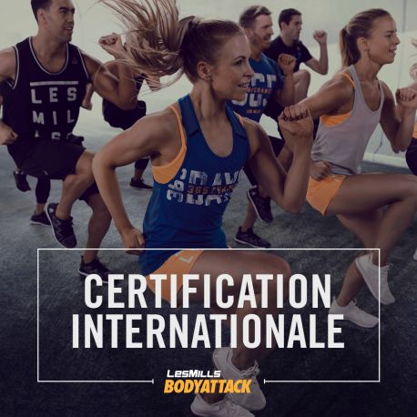Certification BODYATTACK