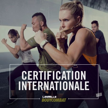 Certification BODYCOMBAT