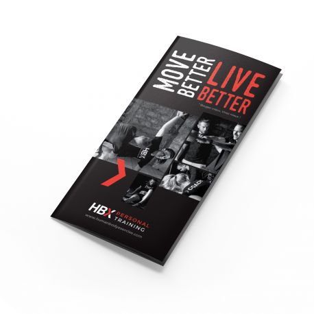 FLYER HBX PT MOVE BETTER LIVE BETTER LOT DE 100