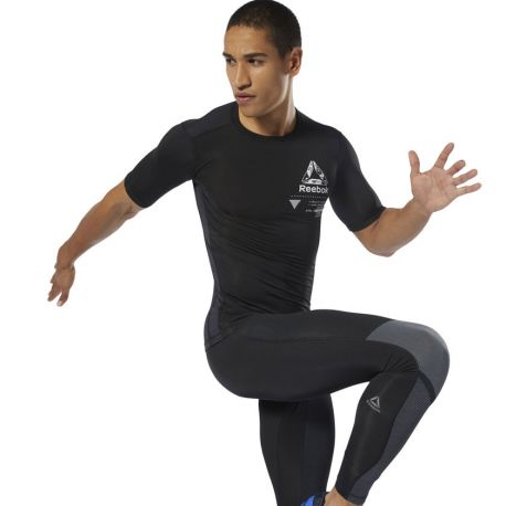 TEE SHIRT COMPRESSION REEBOK