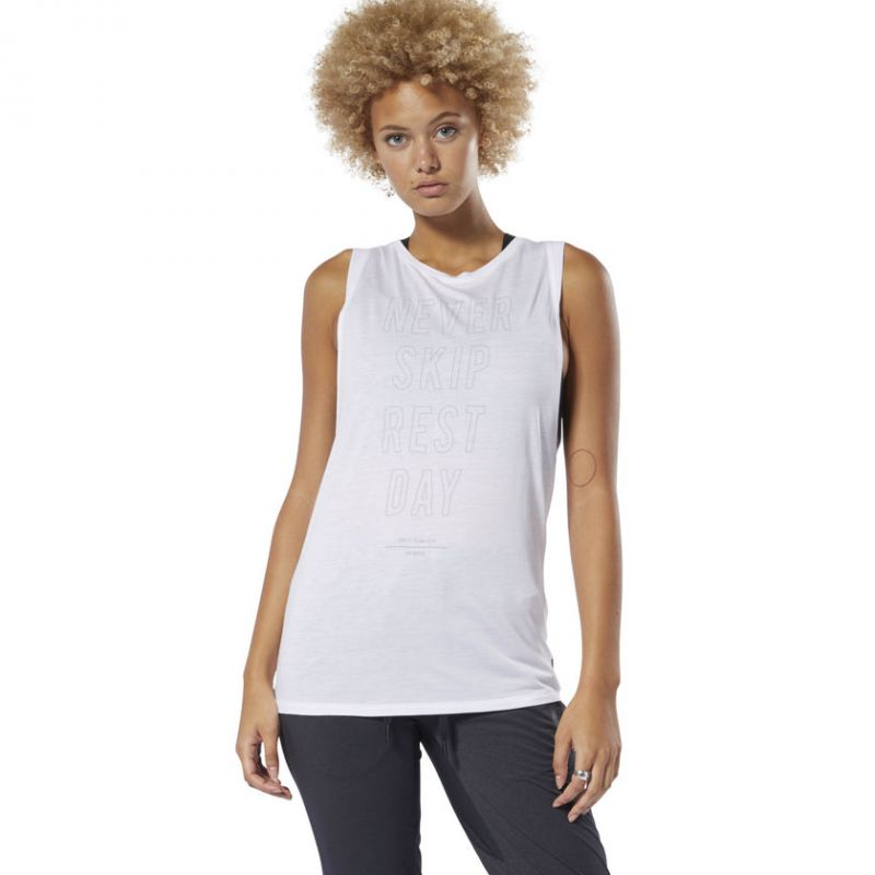 6ed8418aa REEBOK GRAPHIC MUSCLE TANK - Planet Fitness