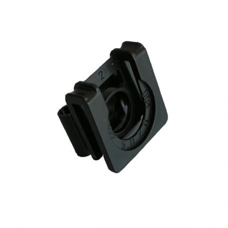 Clip for service hatch